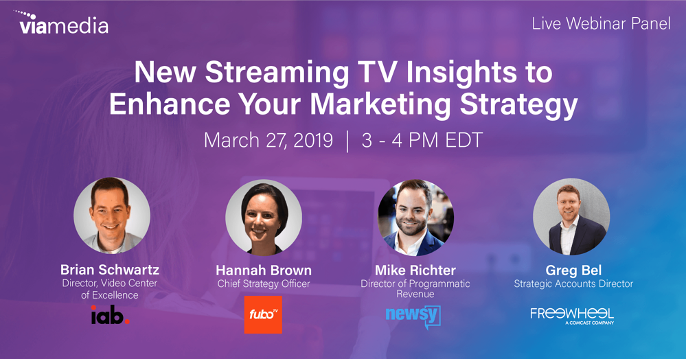 2019 OTT Insights Webinar_Streaming TV