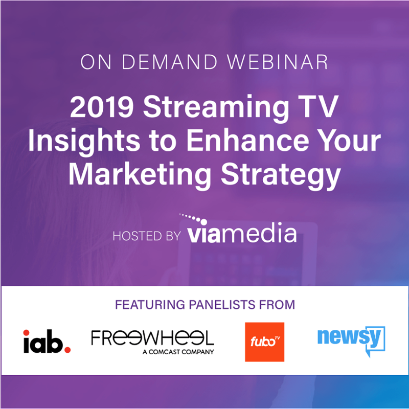 on demand 2019 OTT Trends webinar